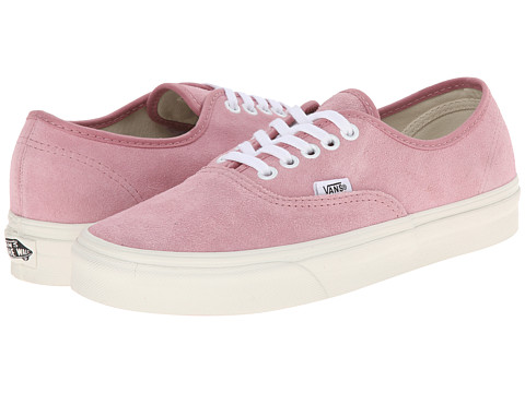 Vans - Authentic ((Vintage Suede) Prism Pink) Skate Shoes