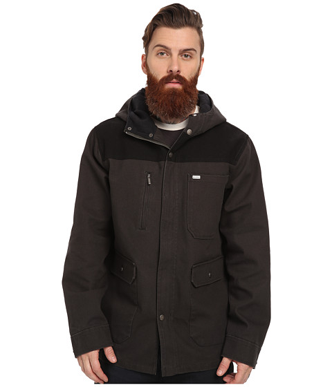 Brixton - Defender Jacket (Black/Black) Men's Coat