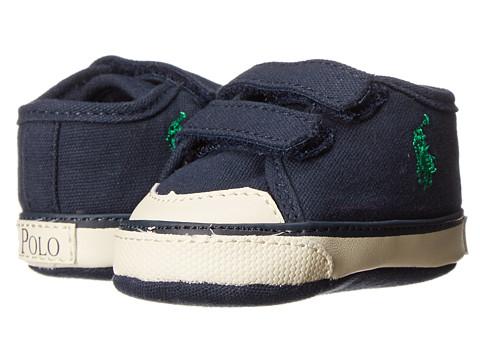 Ralph Lauren Layette Kids - Chaz EZ (Infant/Toddler) (Navy Canvas) Boys Shoes
