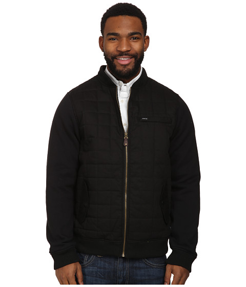 Matix Clothing Company - Box Bomber Fleece (Black) Men