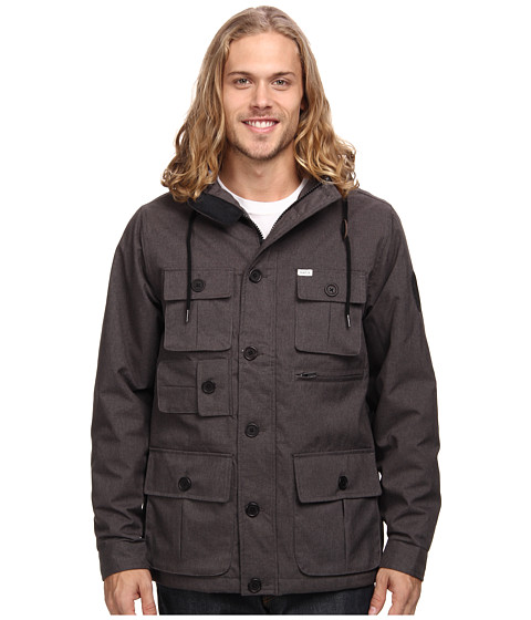 Matix Clothing Company - City Utility Jacket (Black) Men's Coat
