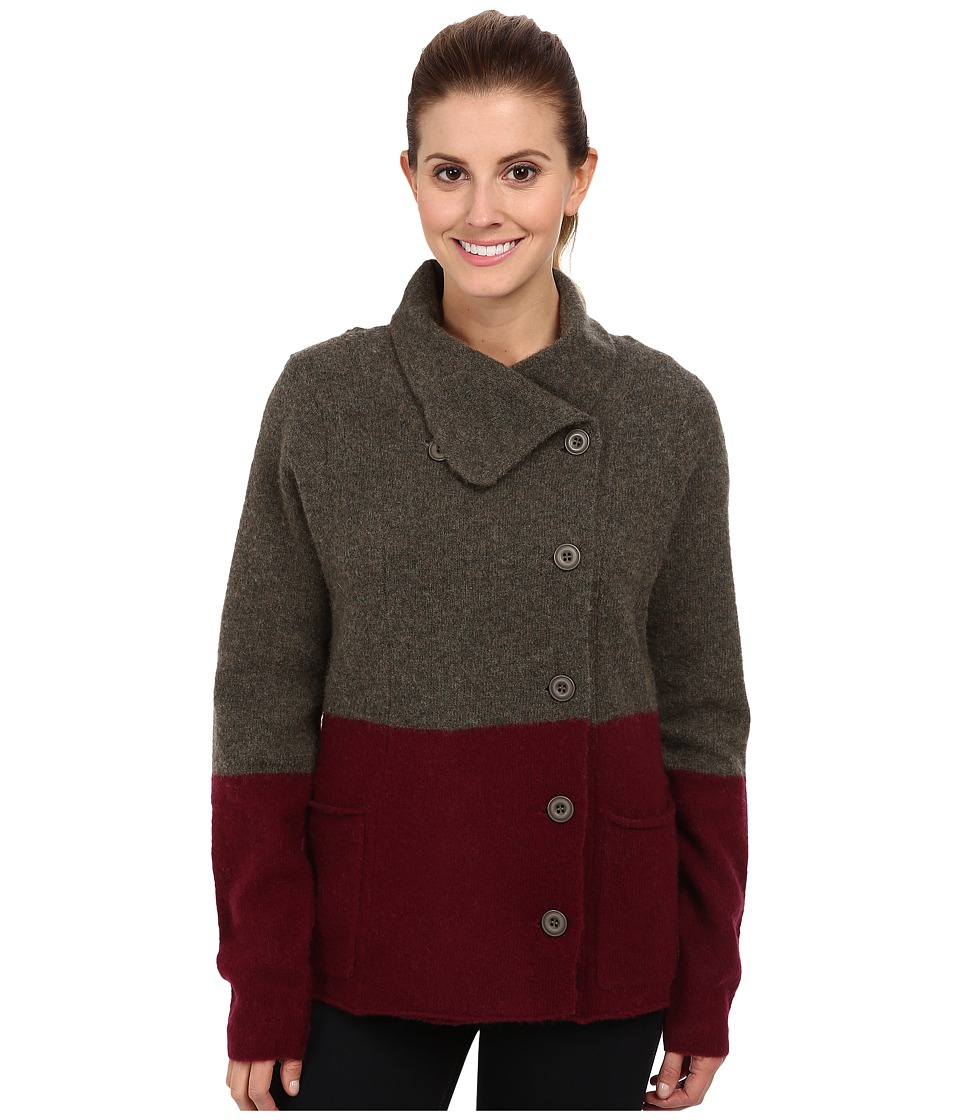 Toad&Co Merino Heartfelt (Dark Olive) Women