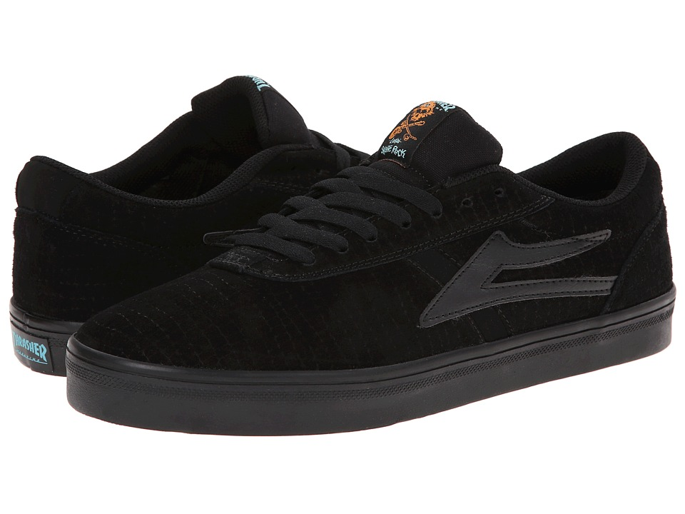 Lakai - Vincent (Black Suede Thrasher) Men's Skate Shoes