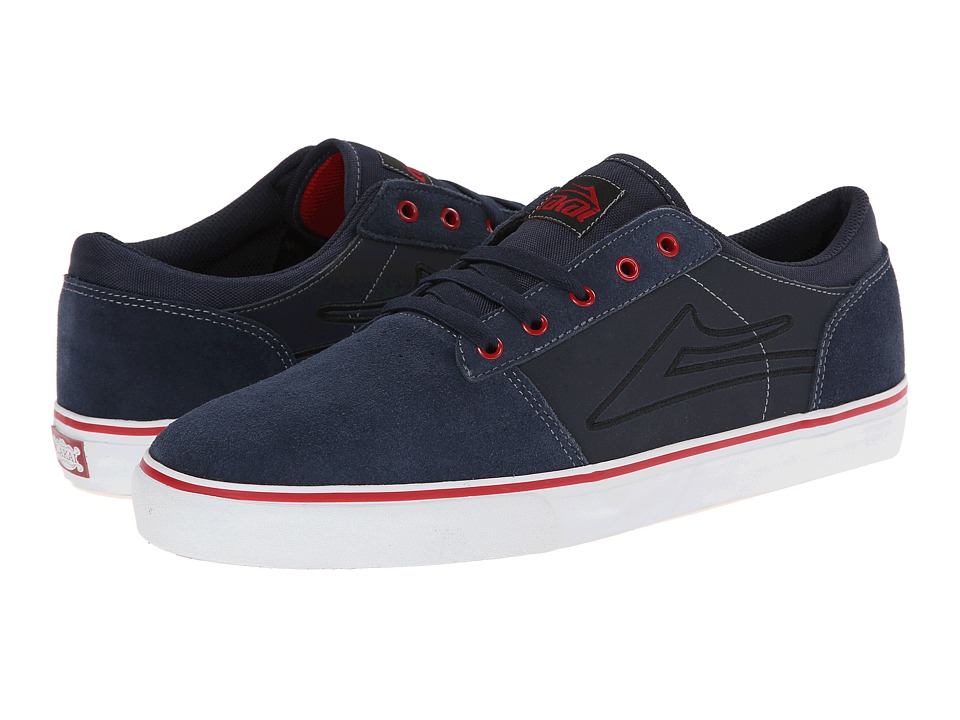 Lakai - Brea (Navy Suede) Men's Skate Shoes