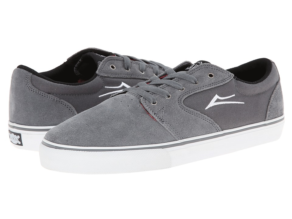 Lakai - Fura (Grey Suede) Men's Skate Shoes