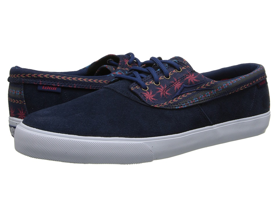 Lakai - Camby (Navy Suede) Men's Skate Shoes