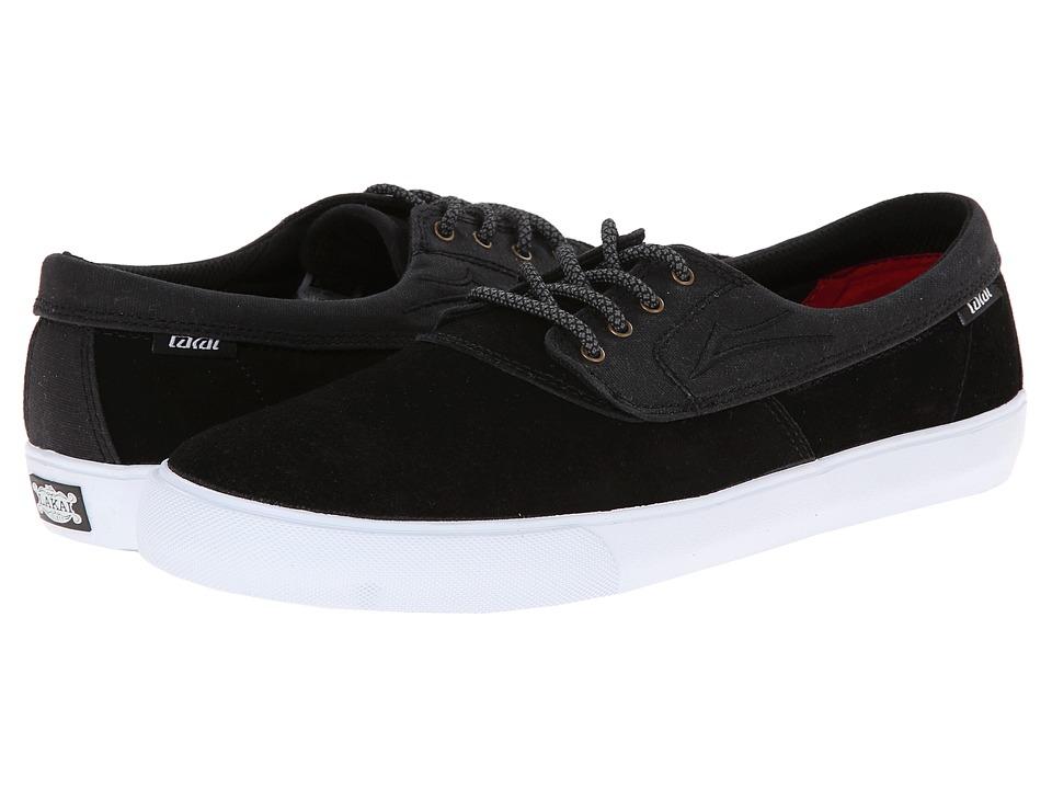 Lakai - Camby (Black/Black Suede) Men's Skate Shoes