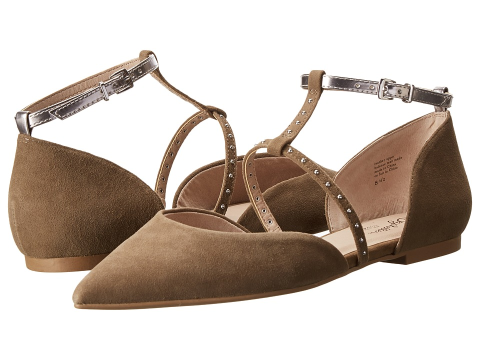 Seychelles - Uncovered (Clay Suede) Women's Flat Shoes