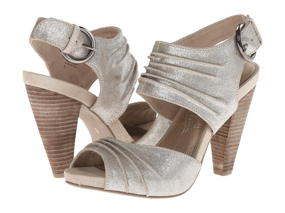 Seychelles - Gypsy (Silver Metallic Suede) High Heels