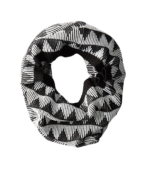 BCBGeneration - Broken Zag Cowl (Jet Black) Scarves