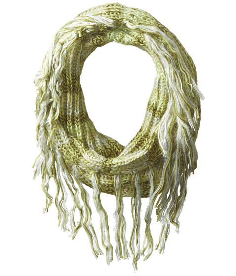 BCBGeneration - Cozy Striped Loop (Tusk) Scarves
