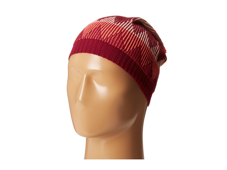 BCBGeneration - Broken Zag Slouch Hat (Passion) Caps