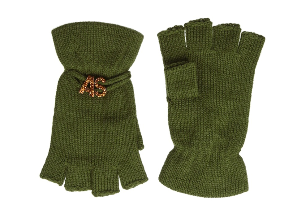 BCBGeneration - Affirmation Fingerless Gloves (Cadet) Lace Gloves
