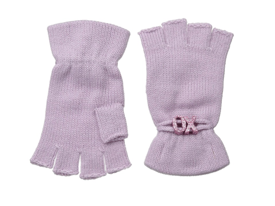 BCBGeneration - Affirmation Fingerless Gloves (Purple Haze) Lace Gloves