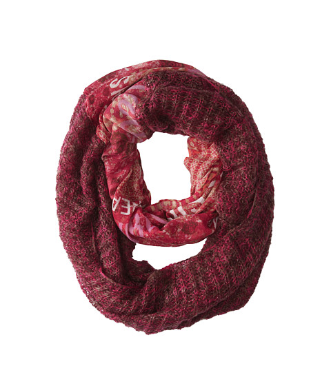 BCBGeneration - Passion Knit to Print Loop (Passion) Scarves