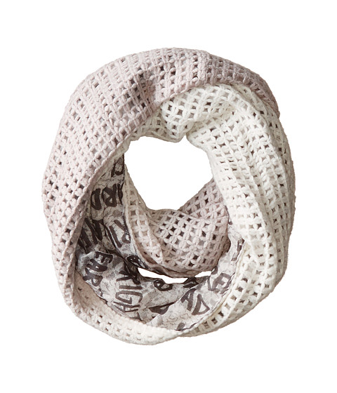 BCBGeneration - Luxe Lace Knit (Pebble) Scarves