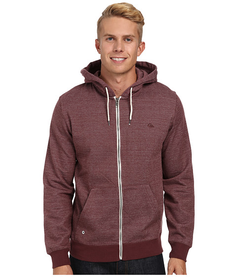 Quiksilver - Major Zip (Sassafras) Men's Clothing