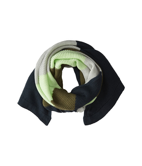 BCBGeneration - Color Block Bias Scarf (Cadet) Scarves