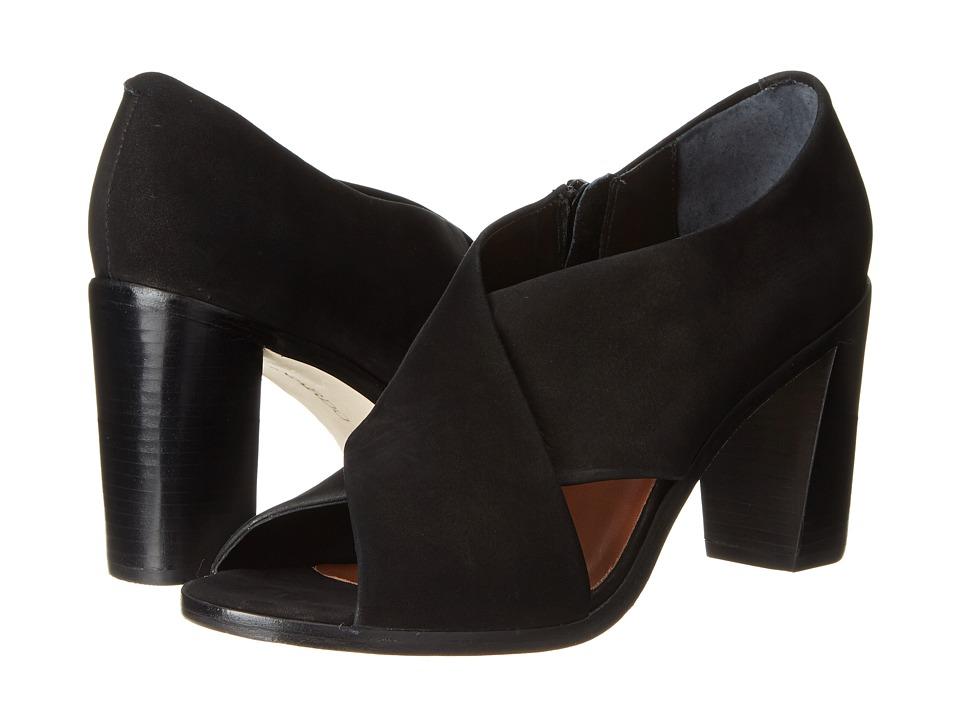 Bernardo - Henry (Black Nubuck) Women's Sandals