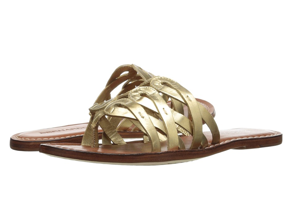 Bernardo - Magnolia (Old Gold Calf) Women's Sandals
