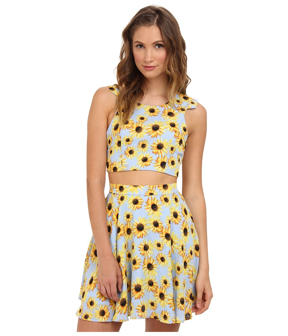 Gabriella Rocha - Flower Power Crop Top (Sunflower) Women