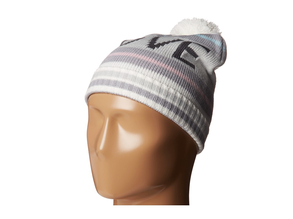 BCBGeneration - Striped Varsity Hat (Pure White) Caps