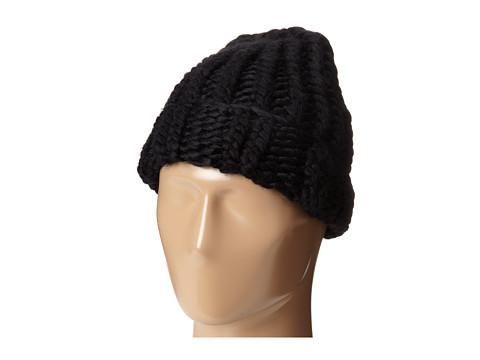 BCBGeneration - Super Chunky Cuff Hat (Jet Black) Caps
