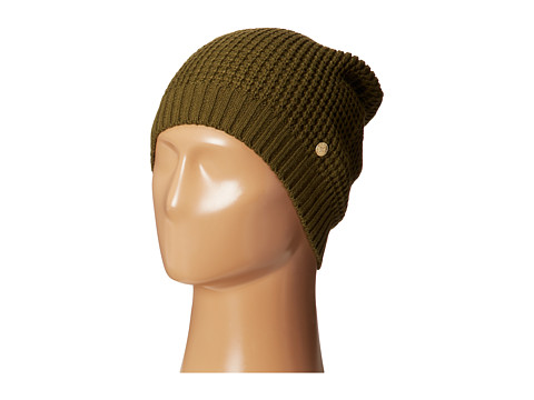 BCBGeneration - Waffle Stitch Solid Slouch Hat (Cadet) Caps
