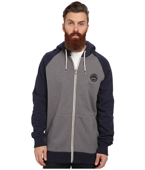Quiksilver - Major Raglan (Navy Blazer) Men's Clothing