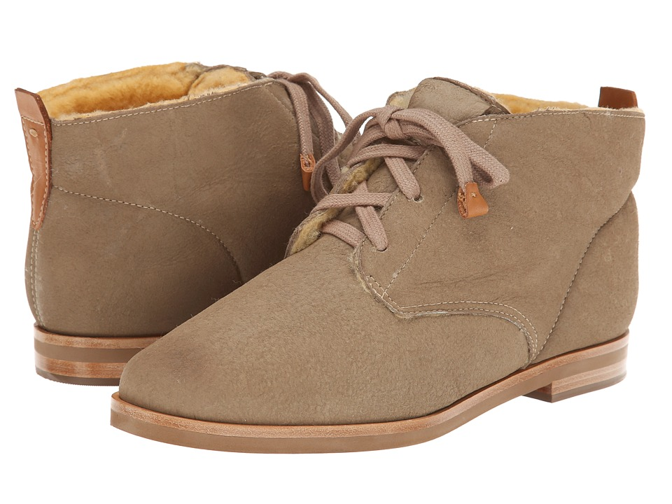 Bernardo - Sahara (Sand Shearling) Women's Lace-up Boots