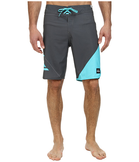 Quiksilver - New Wave Boardshort (Gunsmoke) Men's Swimwear
