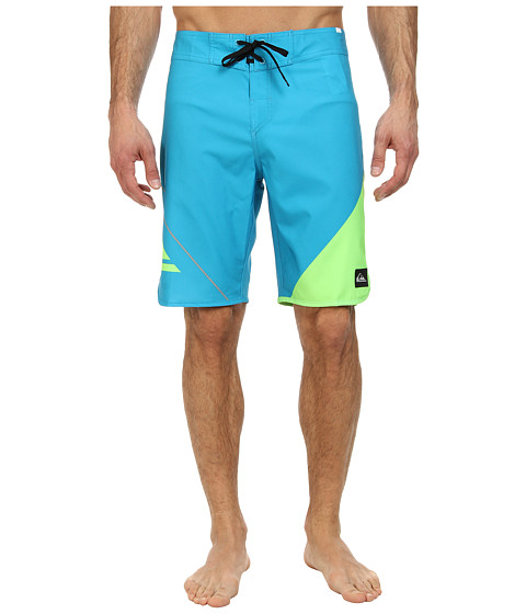 Quiksilver - New Wave Boardshort (Neon Green) Men's Swimwear