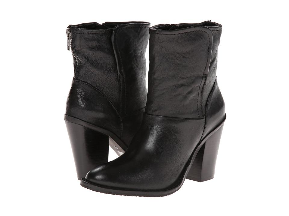 Steven - Earla (Black Leather) Women
