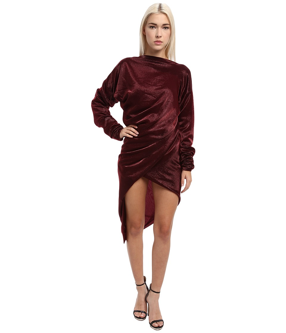 Vivienne Westwood Gold Label - Ray Dress (Bordeaux) Women's Dress