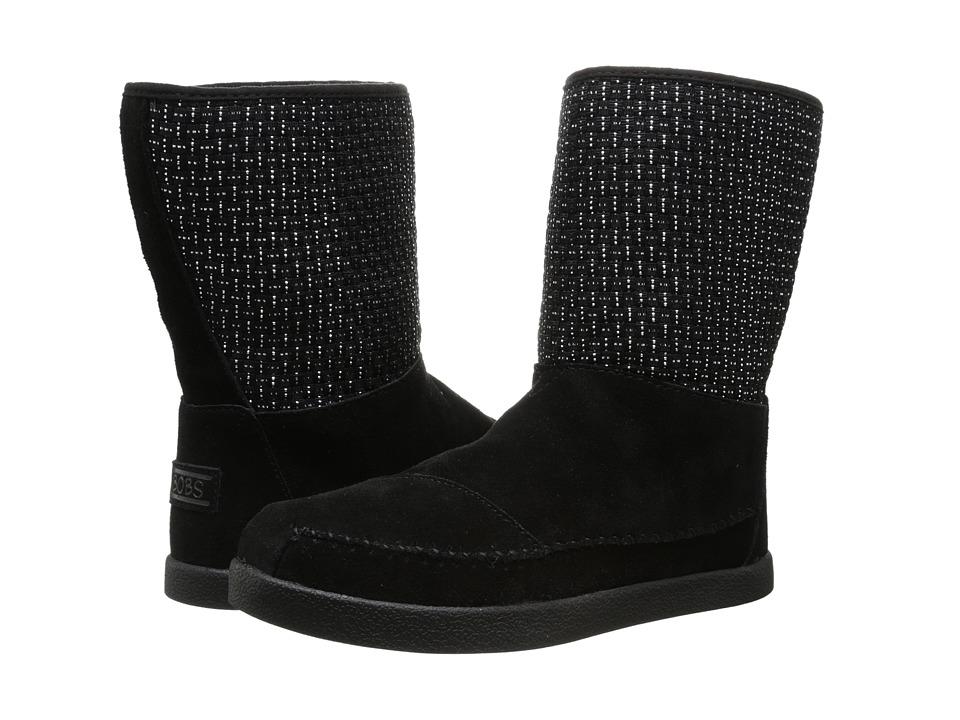 BOBS from SKECHERS - Earthwise - Twist Turn (Black/Black) Women's Shoes