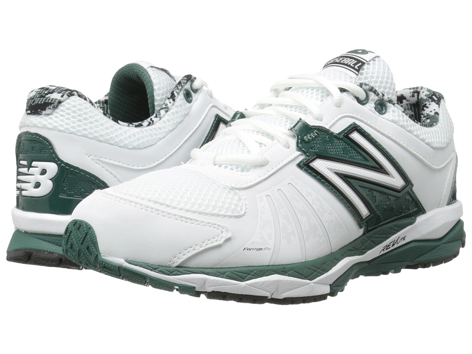 New Balance - T1000v2 (Green/White) Men's Running Shoes