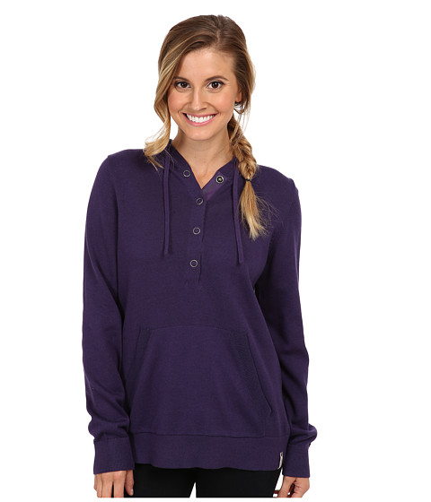 Woolrich - Plum Run Hooded Sweater (Amethyst) Women's Sweatshirt