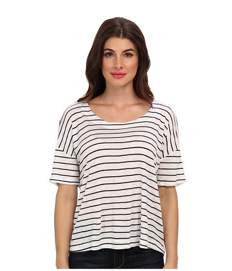 Splendid - Box Top (White) Women's Long Sleeve Pullover