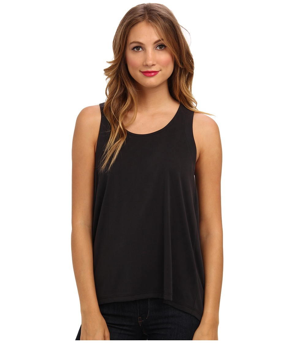 Splendid - Back Pleat Top (Black) Women