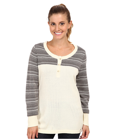 Woolrich - Avalanche Henley Sweater (Wool Cream) Women's Sweater