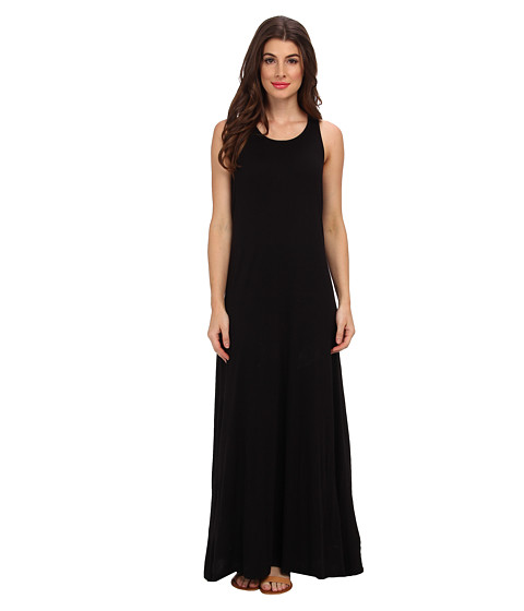 Splendid - Column Maxi Dress (Black) Women's Dress