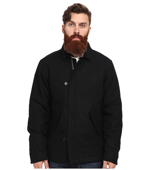 RVCA - Deck Jacket (Black) Men's Jacket