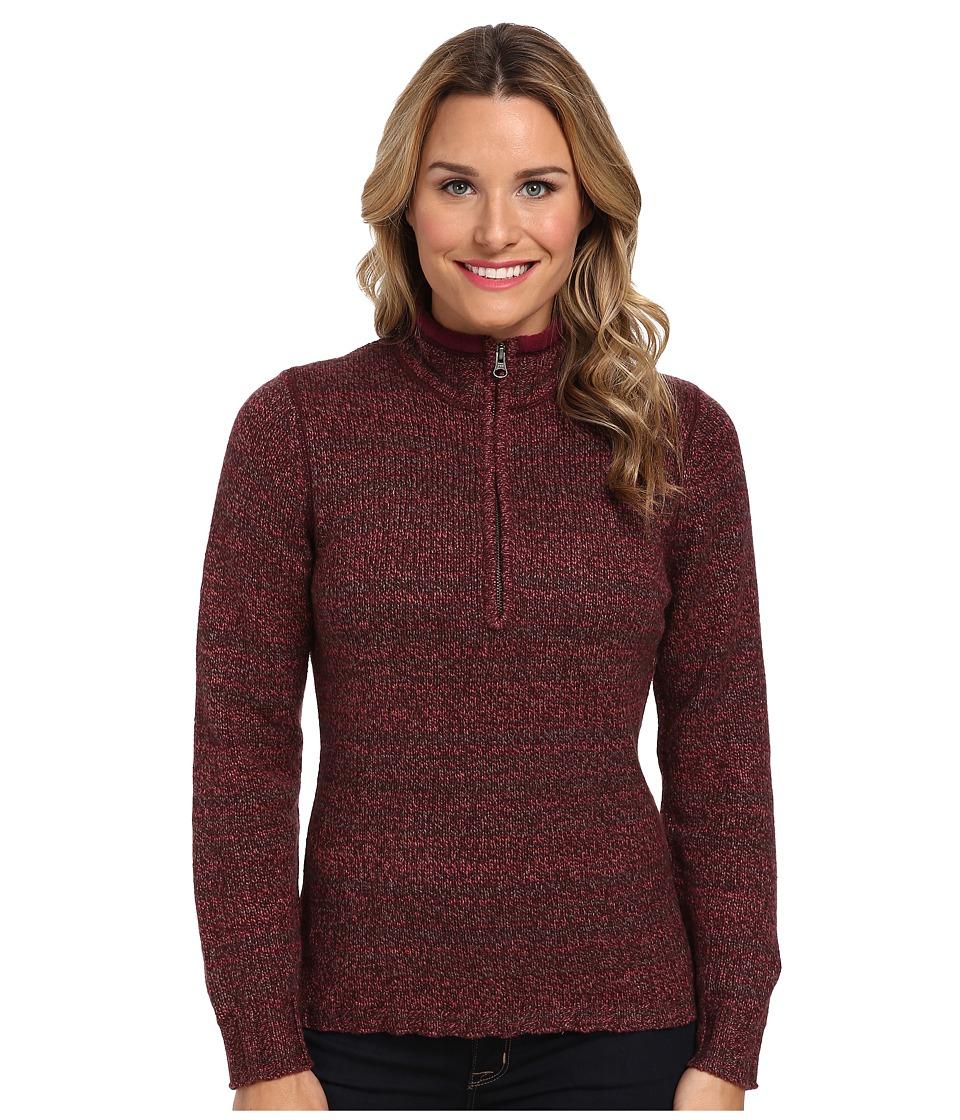 Woolrich - Tanglewood 3/4 Zip Sweater (Fig) Women