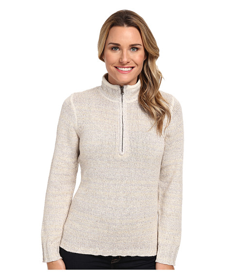 Woolrich - Tanglewood 3/4 Zip Sweater (Wool Cream) Women