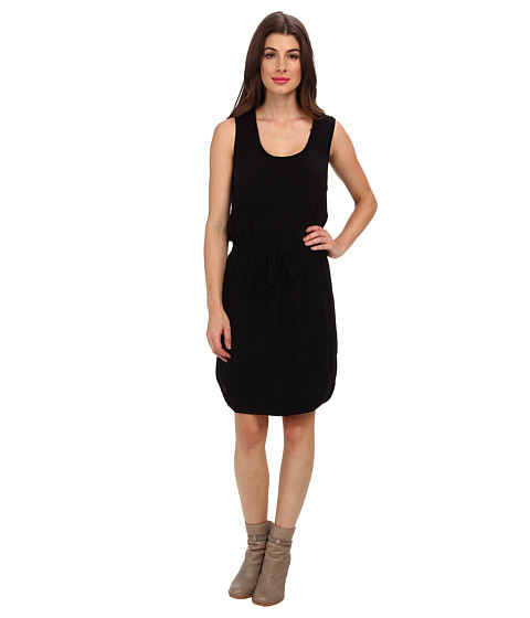Splendid - Drawstring Dress (Black) Women's Dress