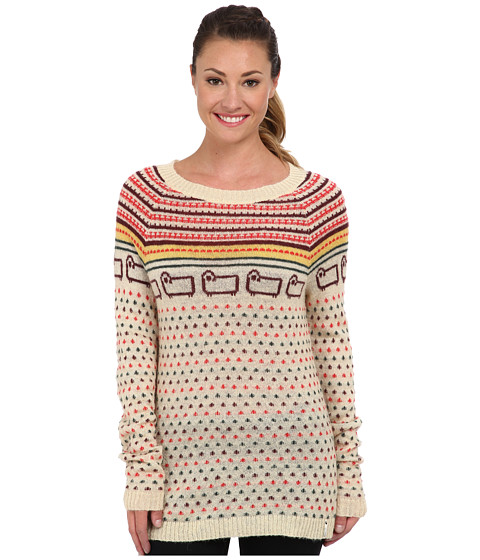 Woolrich - Bateau Fairisle Mohair Sweater (Wool Cream) Women's Sweater
