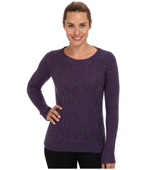 Woolrich - Cable Mohair Sweater (Amethyst) Women
