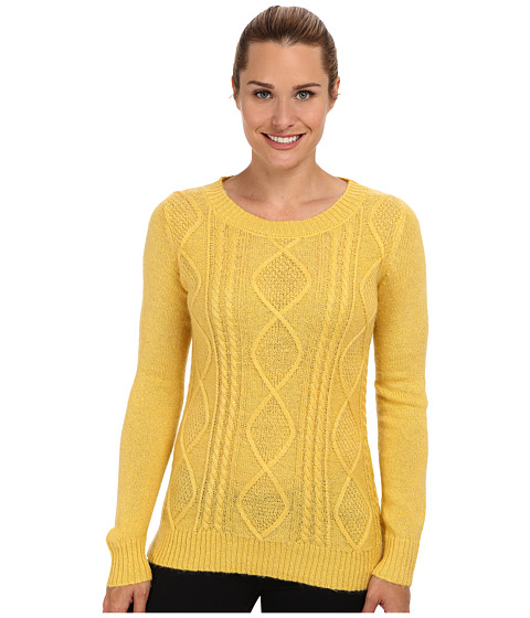 Woolrich - Cable Mohair Sweater (Cream Gold) Women