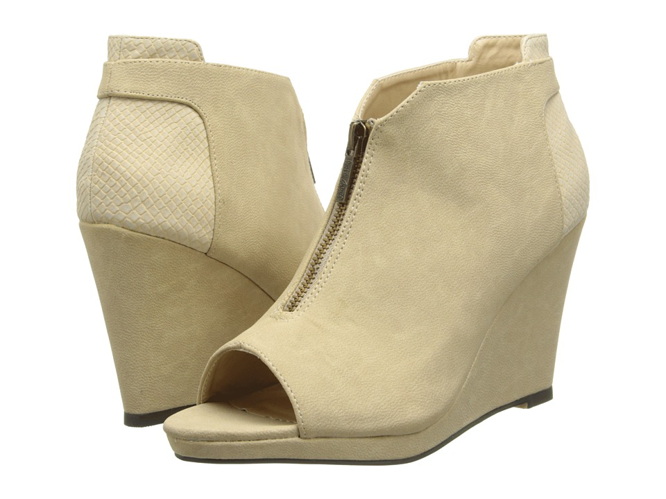 Michael Antonio - Altena (Natural) Women's Wedge Shoes