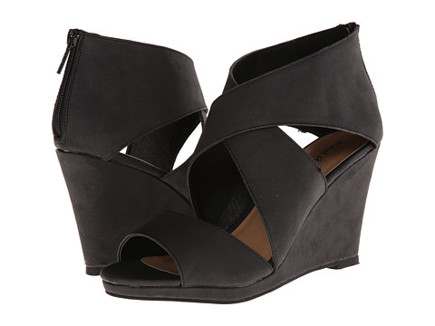 Michael Antonio - Gabina (Black) Women's Wedge Shoes